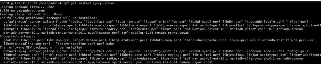 LAMP on Debian