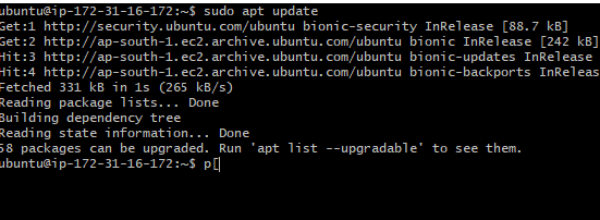 how to install lamp in ubuntu 18.04 using terminal