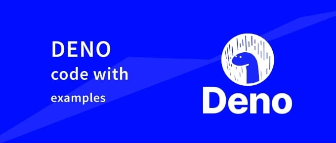 Deno code with examples