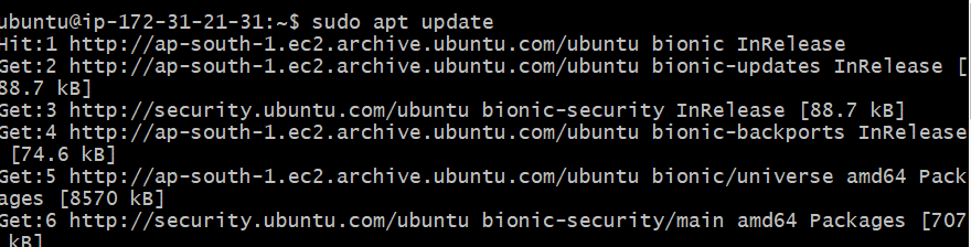 how to update ubuntu